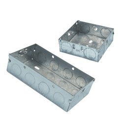 Pre-Galvanized Switch & Socket Boxes