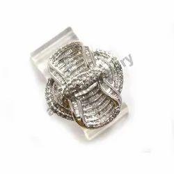 Multi Diamond Gold Ring