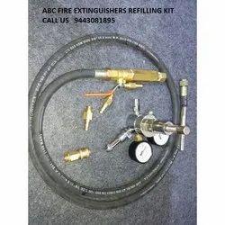 SS A B C Dry Powder Type ABC Fire Extinguisher Refilling Kit