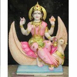 Brahmani Mata Marble Moorti