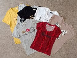 Fancy Yellow Kids Branded t Shirt, Size: 3-5 Years