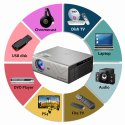 Egate K9 Miracast / Multiscreen LED 720p 2400 Lumens HD Projector