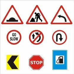 Red Reflective Sign Boards, Shape: Rectangular