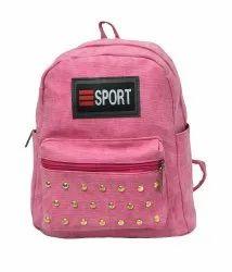 Pink Girls Backpack
