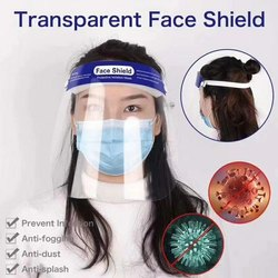 Plastic Free Size Transparent Face Shield, Products in the Kit: Mask