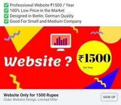 1 Year Dynamic Website