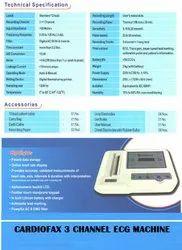ECG 3 Channel Cardiofax