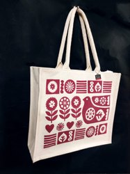 Laminated Canvas Promotional Bag