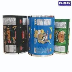 Printed 4 Layer Laminate Roll for Packaging