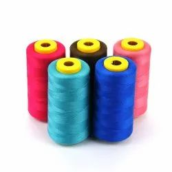 Spun White Polyester Filament Threads, For Industrial