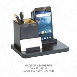 Promotional Leatherite Mobile & Card Holder