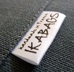Folded Clothing Labels