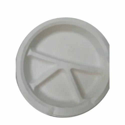 4CP Sugarcane Bagasse Eco Friendly Plate