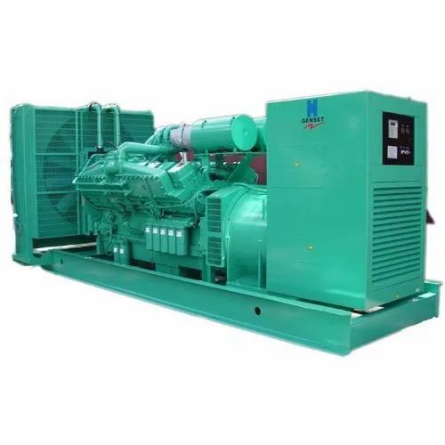 Air Cooling 60 100 L Used 100 Kw Diesel Generator Rs 200000 Piece Id 14018403933