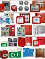 2 Zone Panel Fire Alarm System