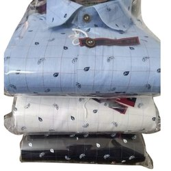 Hatchmen Full Sleeve Mens Printed Casual Shirt