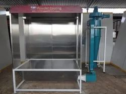 Industrial Powder Coating Booth