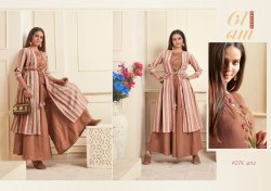 Kurti Style Gown with Handwork