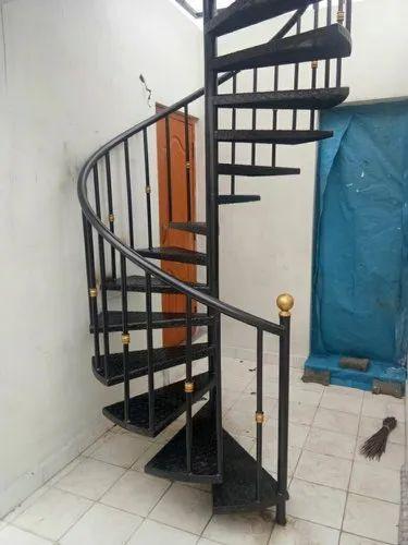 Mild Steel Spiral Staircase