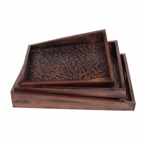 Antique Tray Copper