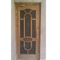 Solid Wood Jali Door