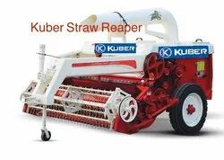 Multi Crop Straw Reaper Kuber 7549 for Agriculture