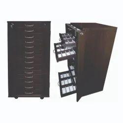 Optical Eyeglasses Sunglass Storage Drawer Cabinet Trolley - TL 006B