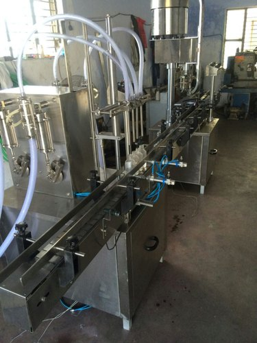 Juice Bottle Filling Machine