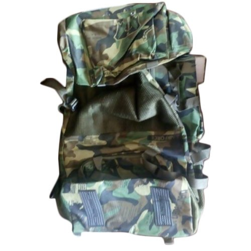 Synthetic Black Army Carry Bag, Size: 70