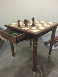 Wodden Chess Table