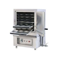 2 Hp Stainless Steel Electric Idli Steamer, 220 V, Capacity: 6 Trays