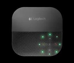 Black USB P710E Logitech Mobile Speaker Phone, For Office