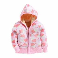 Woolen Casual Wear Kids Hooded Sweaters, Size: S