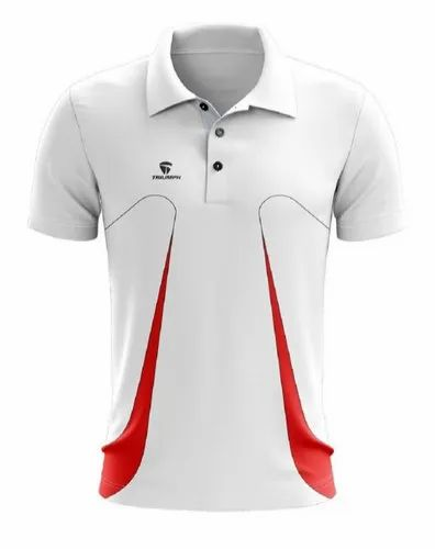 Dry Fit White Cricket T-shirt