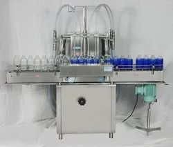 Sanitizer bottle filling machine