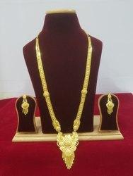 Gold plated Raani haar set
