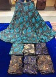 Silk Lehenga Skirt
