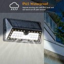62 LED Solar Outdoor Motion Sensor Lamp With Cool & Warm White