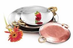 Branded Corporate Gift Steel Copper Tawa 1 No. DC-114 in Bulk for Corporate Gifting