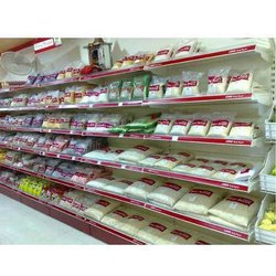 Display Wall Supermarket Rack