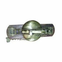 Brass Vintage Door Bell, Packaging Type: Box