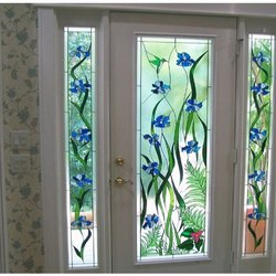 Stylish Door Glass, Thickness: 10-15 Mm