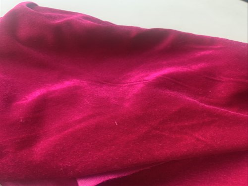 Polyester Two Way Velvet