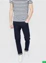 Solid Low Rise Slim Fit Jeans