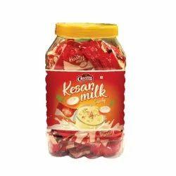 Kesar Milk Candy Jar