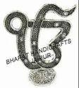 Silver Plated Ek Onkar Idol