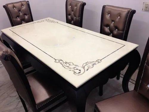 Marble Daining Set Composite Marble Dining Set Manufacturer From Delhi
