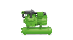 Bitzer 2 Stage 2nd Generation Semi Hermetic Liquid Receiver Reciprocating Compressor