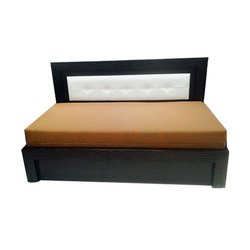 36674fcd1f0 Plane- Taper Wooden Double Bed King Size With Storage, Rs 8500 ...