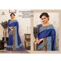 Rachna Art Silk Digital Printed Silkken Dobara Saree Catalog For Women 3